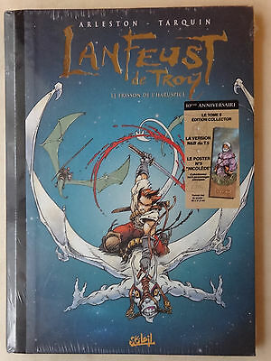 BD LANFEUST DE TROY tome 5 edition collector 10 ans TTBE sous blister (3PC1GD37