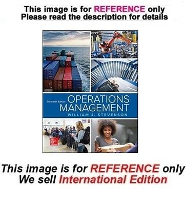 Operations management 13th edition by stevenson isbn 978 1259667473 operations management by stevenson 13th international edition fandeluxe Image collections