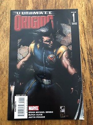 Ultimate Origins #1 Variant Cover Direct Edition Sharp NM 2008 COMBINE SHIPPING