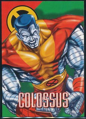 1996 Marvel Vision Trading Card #29 Colossus