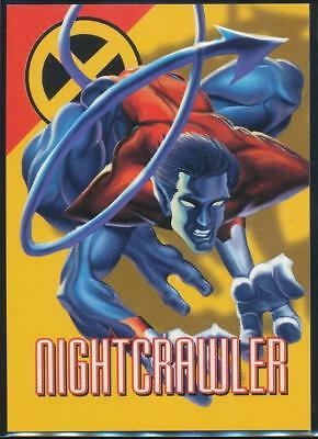 1996 Marvel Vision Trading Card #35 Nightcrawler