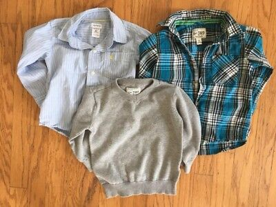 Lot of Boys 2T Long Sleeved Shirts Carter's & Children's Place