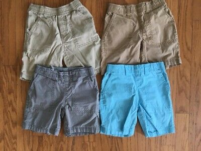 Lot of Boys 4T Shorts Circo & Children's Place Khaki, Gray, Blue