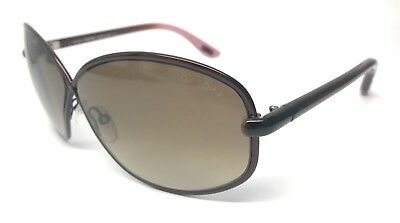 58f5bee2269af TOM FORD AUTHENTIC Brigitte Brown TF160 48F 65-9-125 Used Sunglasses ...