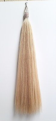 Custom Tail Extension New ULTRA LIGHT FLAXEN 1lb hair & 1lb Weights KATHYS TAILS