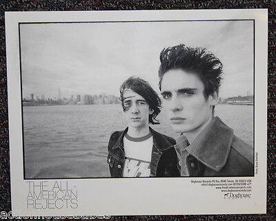 """The ALL-AMERICAN REJECTS : PROMO Photo 8"""" x 10"""" Picture / Poster B&W - Doghouse"""