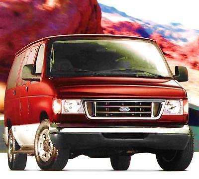 2005 Ford E-Series Wagon & Commercial Van Brochure