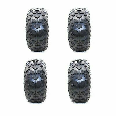 "4x 145/70-6"" Inch Tire/Tyre for 70/90cc 110cc 125cc ATV Quad Buggy Go Kart Mower"
