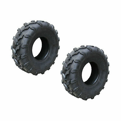 "2x 19x7-8"" inch Tubeless Tyre Tire for 125/150/200cc Quad Dirt Bike ATV Buggy"