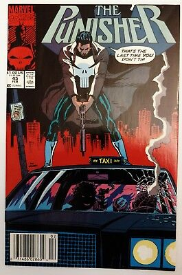The Punisher #45 NEWSSTAND EDITION NEAR MINT
