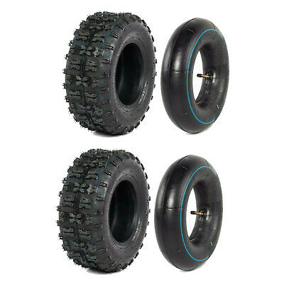 Pair 13X5-6 ATV Tyre/Tire Tube 4 Rideon Mower GK160B Slider Go Kart Scooter Quad