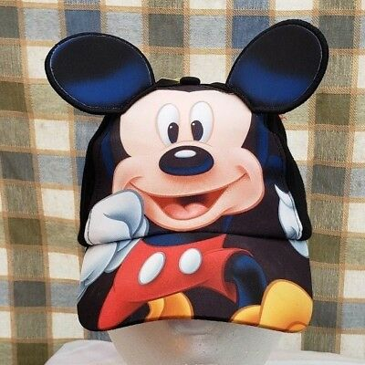 Disney Mickey Mouse Youth Hat Cap with Ears Snapback