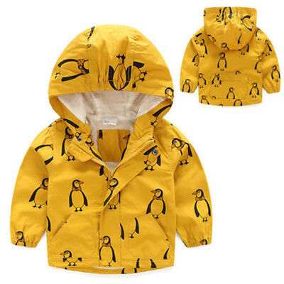 Hot Kids Boys Children Stormbeak Waterproof Jacket Rain Coat Windbreaker Clothes