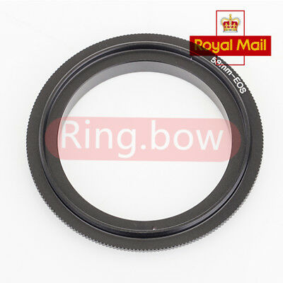 Pixco 58mm Lens Macro Reverse Adapter Ring For Canon EOS Camera UK FAST SHIP
