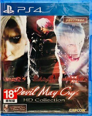 MSRNY PS4 Devil May Cry HD Collection Asian ver Chinese + English sub