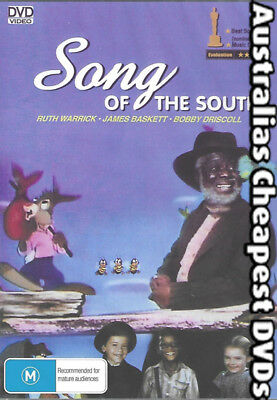 Song Of The South DVD NEW, FREE POSTAGE WITHIN AUSTRALIA REGION ALL