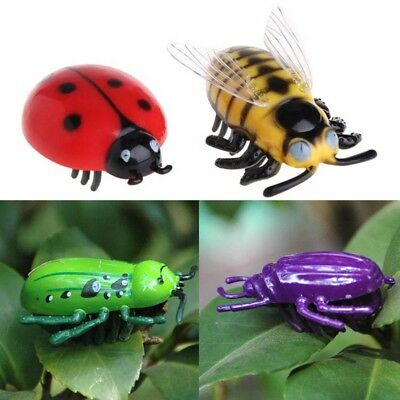 Cat Toys Teaser Pet Electric Beetle Cicada Auto Electric Walking Insect Mini