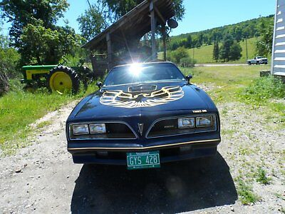 1977 Pontiac Trans Am  1977 smokey and the bandit trans-am