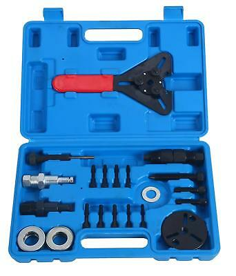 21Pc Air Conditioning  AC Clutch Removal & Installation With Clutch Holding Tool