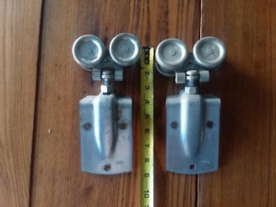 National Barn Door Trolley Hanger Roller Pair, Working Condition