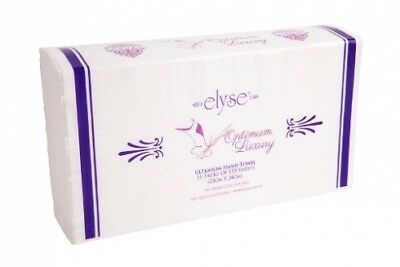 New Elyse Luxury 2424 Hand Towel Ultraslim - 23Cm X 24Cm, White Carton (16