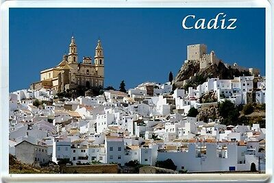 Cadiz, Spain Fridge Magnet-1