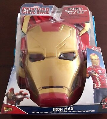 Iron Man Mask And Deluxe Costume