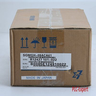 1PC NEW IN BOX  Yaskawa SGMGH-09ACA61 Servo Motor One year warranty