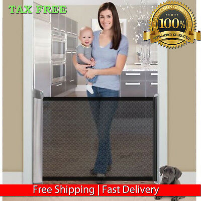 Summer Infant Retractable Gate Expandable Stair Pet Dog Baby Toddler Safety Gate