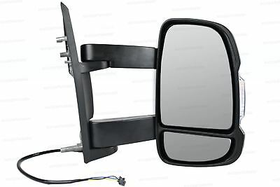 Right Wing mirror Complete Unit  for Peugeot Boxer 2006-2018 Long Arm
