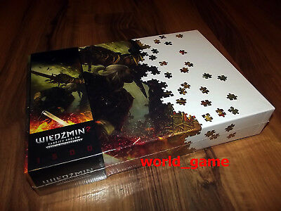 The Witcher 2 Geralt and Draug Special Edition - NEW FOIL - PUZZLE - RARE !!