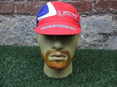 New ~ Adidas Great Britain Team Issue Gb Cycling Bicycle Flip Up Visor Hat Cap