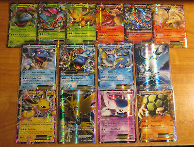"NM Complet Ultra Rare "" Ex, Mega, Full Art "" Pokemon XY Generations 14-Card Set"
