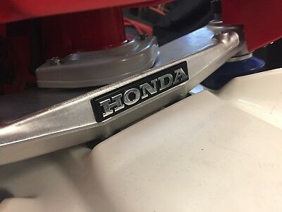 NEW Honda ATC 350x 85-86 lower triple tree Badge emblem Perfect as OEM