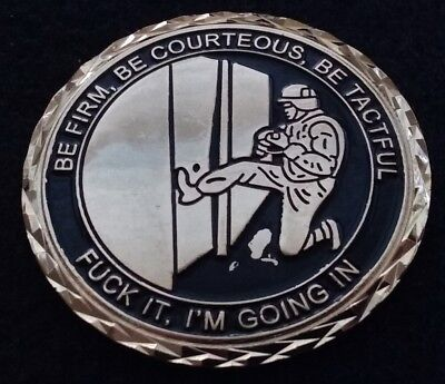 AUTHENTIC USMC Marine Security Guard Program FML MSG Corps NSFW Challenge Coin