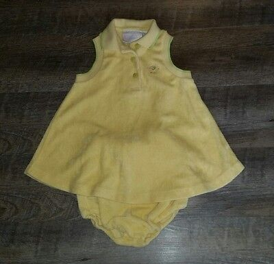 first impressions baby girls terry cloth 2 pc swim cover sz 18 months EUC cute!