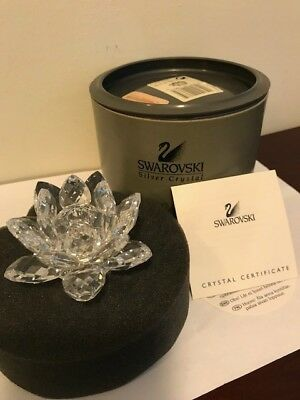Genuine Swarovski Small Water Lily Candle Holder A 7600 Nr 124 000, Mint Cond.
