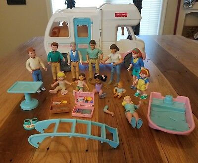Fisher Price Loving Family Dream Dollhouse Rv Vacation Camper