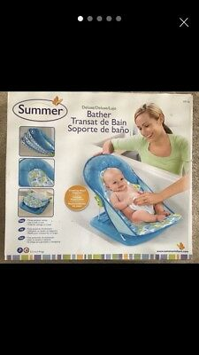 Summer deluxe baby bath seat bather brand new