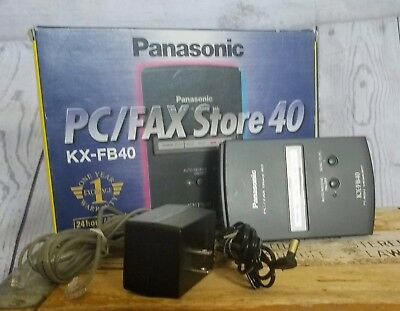 Panasonic PC/FAX Store 40 KX-FB40