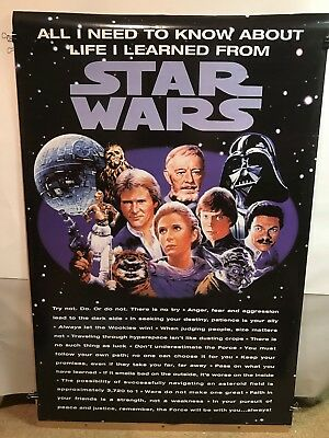 STAR WARS - All I Need to Know About Life I Learned from Star Wars 24x36 Poster