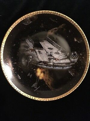 """Star Wars """"The Millennium Falcon"""" Collector's Plate"""