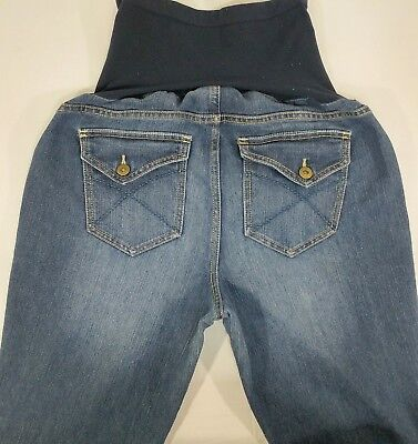 2c012982f712a Oh Baby by Motherhood Size M Maternity Jeans Blue Comfort Denim Jeans  Stretch C2