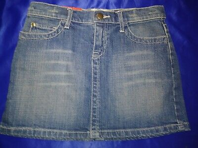 Gap Supercute. Denim Jeans Skirt With Adjustable Waist Girls Size 10. Nwt