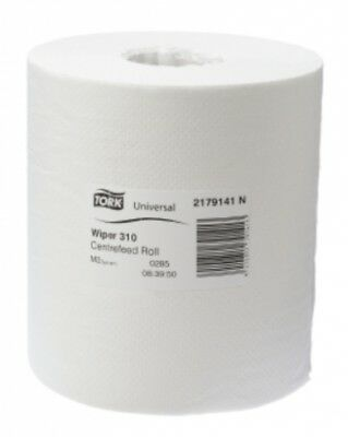 New Tork Sca Universal M2 2179141 Centrefeed 320 Hand Towel - White Carton (4