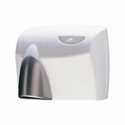 New Jd Macdonald Autobeam Hand Dryer Automatic 63 Decibels - White With Silver