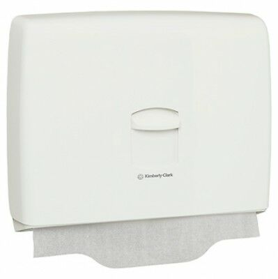 New Kimberly Clark Kcp Aquarius 69570 Toilet Seat Cover Dispenser - White Abs