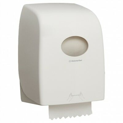 New Kimberly Clark Kcp Aquarius 69590 Roll Towel Dispenser - White Abs Plastic