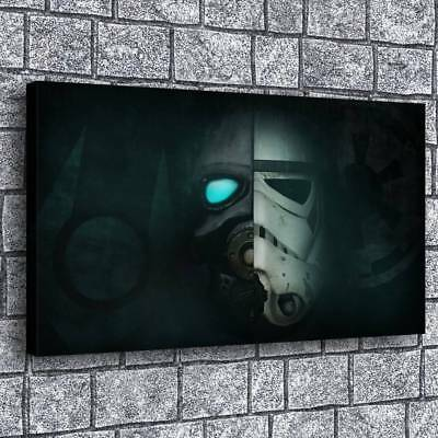 "12""x22""Star Wars Poster Painting Print on Canva Home Decor Room Wall Art Picture"