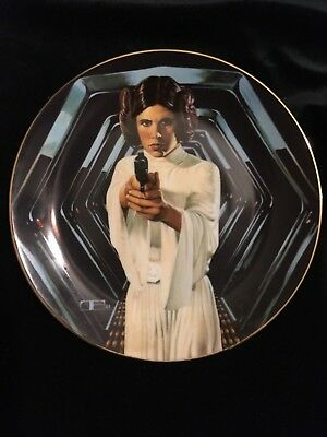 "Star Wars "" Princess Leia"" Collector's Plate"
